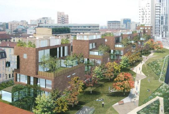 Edilizia residenziale studio engineering milano - Residenze porta nuova ...